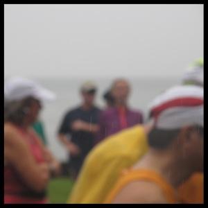 rainy blur