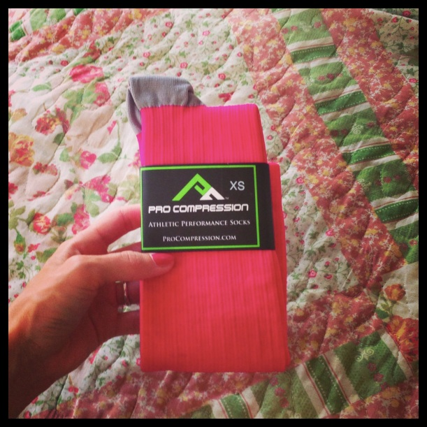 ProCompression Marathon Pink