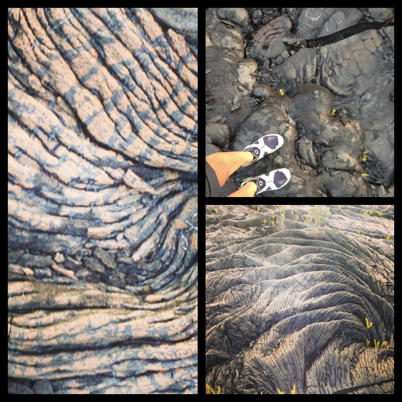 I LOVE the different shapes of the lava. So wild and beautiful!