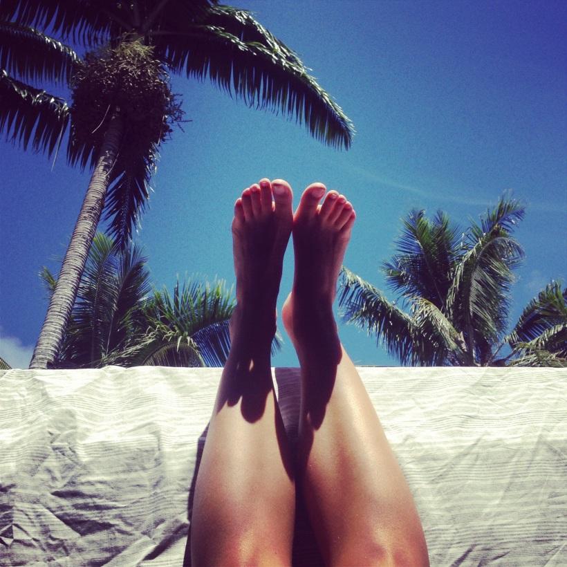 legs up the wall hawaii