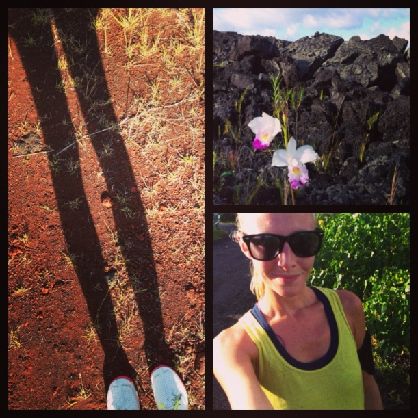 From my last long run. SKORA's treating me great (Hawaii is also pretty great to me)