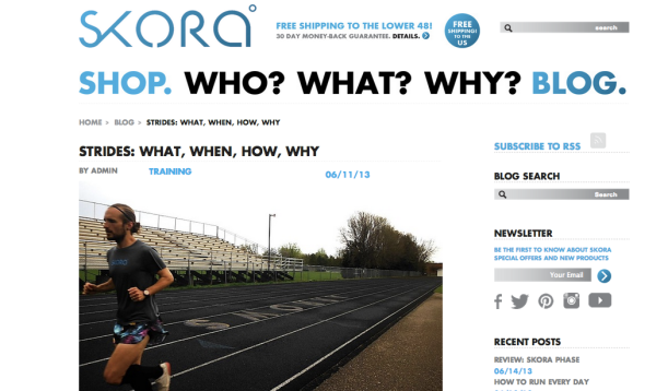 SKORA blog